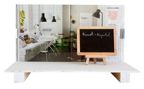 Catálogo de IKEA (págs 92-93) y Joseph Beuys (Kunst=kapital, 197-)r